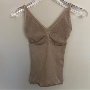 Spanx | Nude Adustable Strap Bra Support Camisole